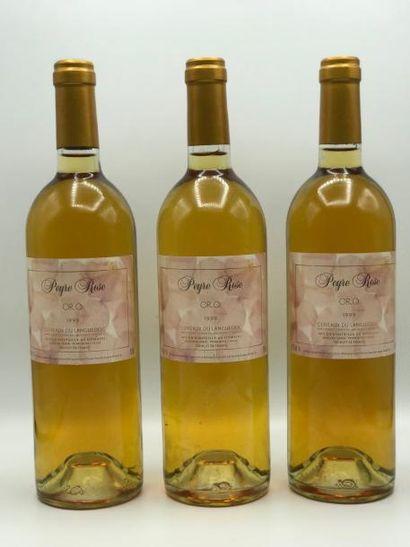 3 bouteilles Côteaux du Languedoc (blanc)...