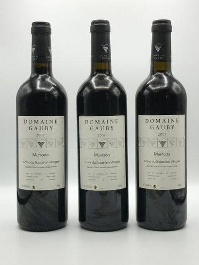 3 bouteilles Côteaux du Languedoc Villages...