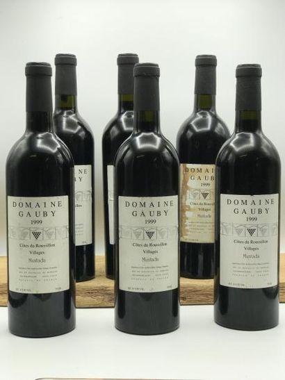 6 bouteilles Côteaux du Languedoc Villages...