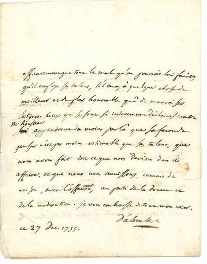 ALEMBERT JEAN LE ROND D' 达冷柏(1717-1783)
