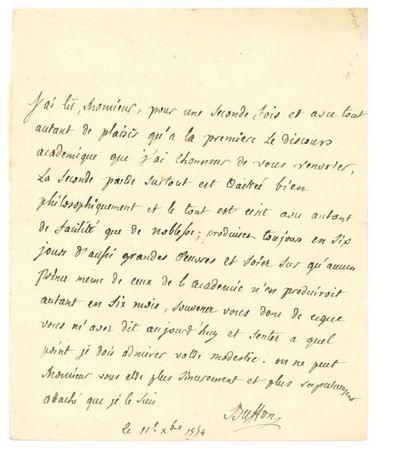 BUFFON GEORGES-LOUIS LECLERC, COMTE DE 布丰伯爵 (1707-1788)