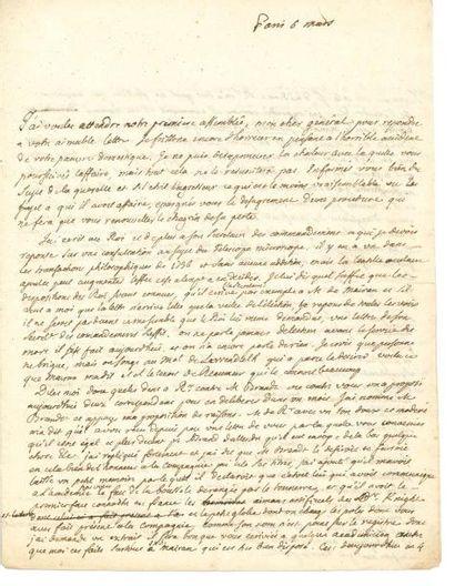 LE ROY JEAN-BAPTISTE (1720-1800)
