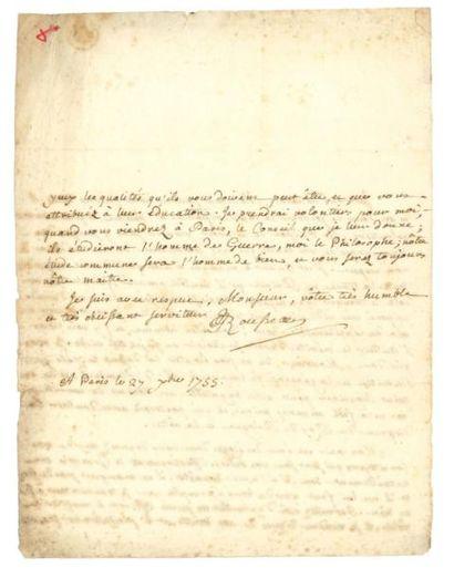 ROUSSEAU JEAN-JACQUES 让-雅克·卢梭 (1712-1778)