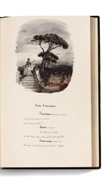 DUMAS PÈRE ALEXANDRE 大仲马(1802-1870) * MANUSCRIT calligraphié (peut-être par Dumas...