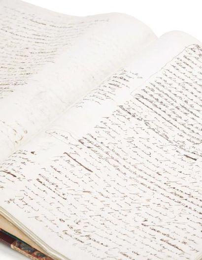 BALZAC HONORÉ DE 奥诺雷·德·巴尔扎克 (1799-1850) MANUSCRIT autographe signé, Ursule Mirouët,...