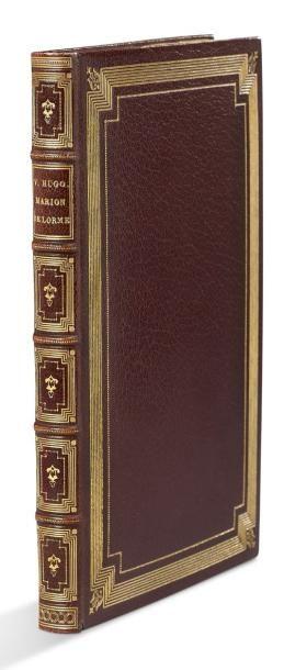 HUGO VICTOR 维克多·雨果 (1802-1885) * Marion de Lorme Paris, Michel Lévy. 1873. In-8;...