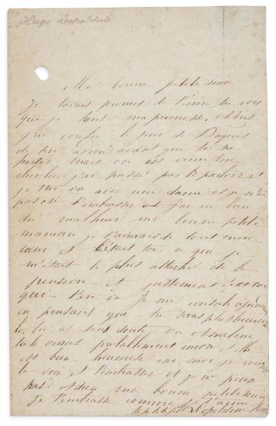 HUGO LÉOPOLDINE (1824-1843)
