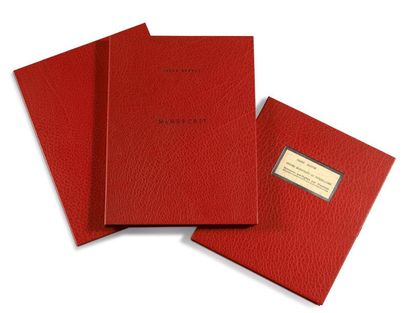 BRETON ANDRÉ 安德烈•布勒东 (1896-1966) SECOND MANIFESTE DU SURREALISME. MANUSCRITS AUTOGRAPHES...