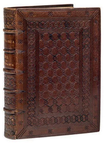 PETRARQUE (1304-1374), CANZONIERE; TRIOMPHES;...