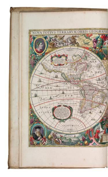 JANSSONIUS (JOHANNES) (1588-1664) Nouvel Atlas ou Théâtre du Monde comprenant les...