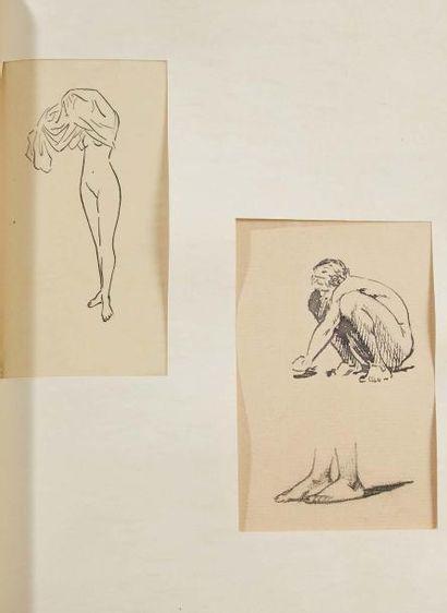 COLETTE SIDONIE-GABRIELLE (1873- 1954) Nudité, tapuscrit original signé de 24 pp.,...
