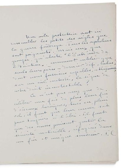 COLETTE SIDONIE-GABRIELLE (1873- 1954) 2 L.A.S. et documents tapuscrits signés, Colette...