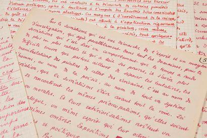 ÉLUARD PAUL (1895- 1952) - HUGNET GEORGES (1906- 1974) Sous le jour surréaliste,...