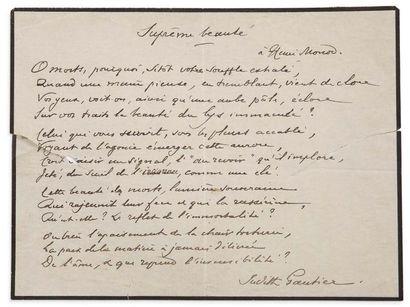 GAUTHIER JUDITH (1845- 1917)