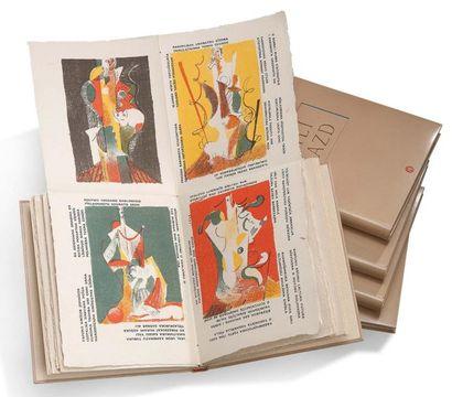 ILIAZD ILJA ZDANEVITCH (1894- 1975) Poésie de mots inconnus, Paris, Le degré 41,...