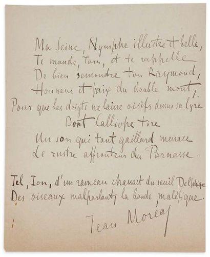 MORÉAS JEAN (1856- 1910)