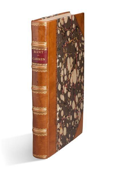 BIZET Georges (1838-1875) Carmen. Opéra Comique en 4 actes Tiré de la nouvelle de...