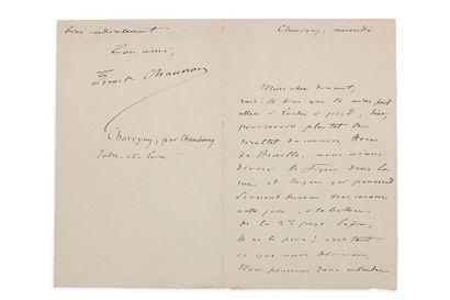 CHAUSSON ERNEST (1855-1899)