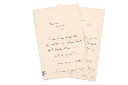 MASSENET Jules (1842-1912)