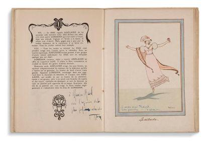 [RAVEL MAURICE (1875-1937)] PROGRAMME, Concerts de Danse N. Trouhanowa, [avril 1912];...