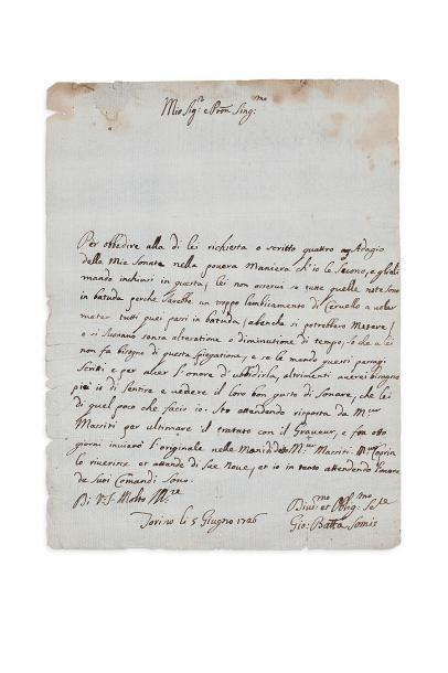 SOMIS GIOVANNI BATTISTA (1686-1763)