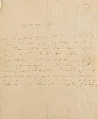 BEETHOVEN Ludwig van (1770-1827). L.A.S.,...