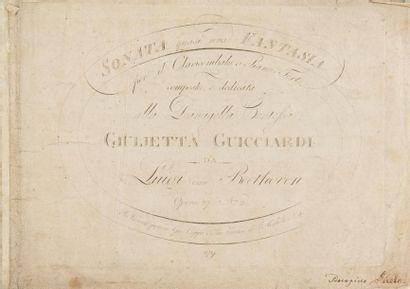 BEETHOVEN Ludwig van (1770-1827). Cinq éditions...