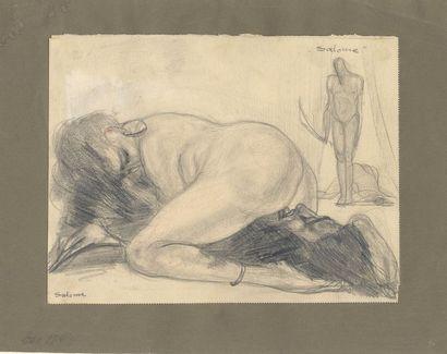 [Artiste non identifié]. Salomé, vers 1920-1930....