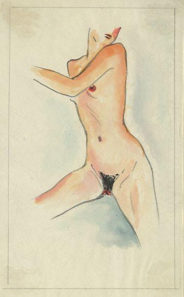 Erika PLEHN (1904-1988). Intimités, Berlin,...
