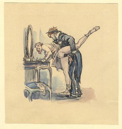 Robert SCHIFF (1869-1935). Carnaval, vers...