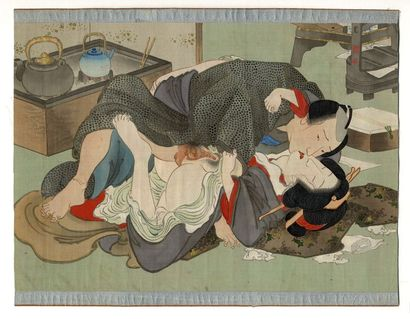 [Artiste non identifié]. Shunga [Images du...