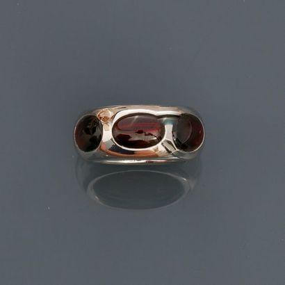 POMELLATO, Bague anneau en or gris, 750 MM,...