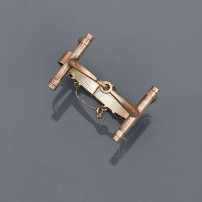 CELINE, Bracelet en, argent 925 MM, signé,...