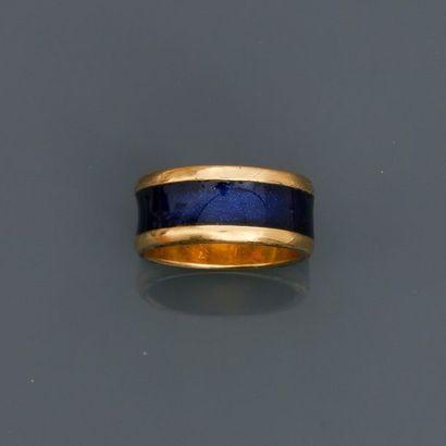 PIAGET, Bague anneau en or jaune, 750 MM,...