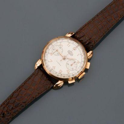 ACTUA Genève. Bracelet montre chronographe...
