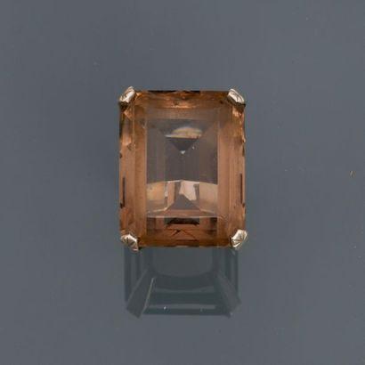 Bague en, argent 925 MM, ornée d'un quartz...