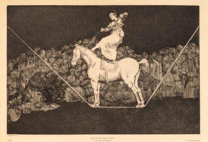 Francisco de GOYA (1746 -1828)  Una Reina...