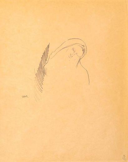 Odilon REDON (1840 - 1916)  Le Sommeil ou...