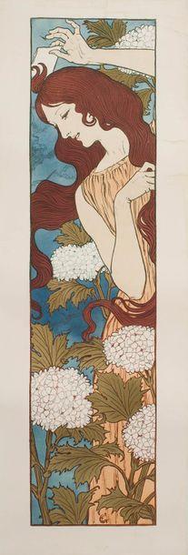 Eugène GRASSET (1845 - 1917)  Extravagance...