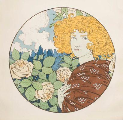 Eugène GRASSET (1845 - 1917)  Froideur –...