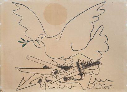 Pablo PICASSO (1881-1973)  Colombe de la...