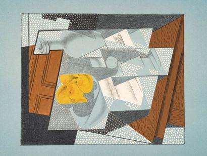 Juan GRIS (1887- 1927)  Le Compotier, 1927...
