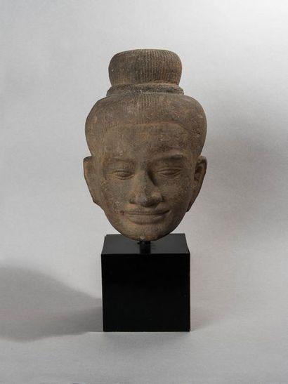CAMBODGE, art khmer, style du Ba Phuon, XIème...