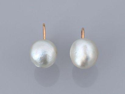Boutons d'oreilles à vis en or 750MM et,...