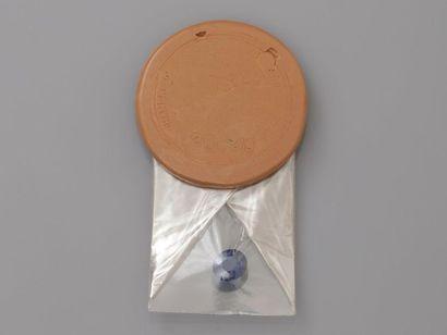 Saphir naturel sous scellé N° 20829 pesant...