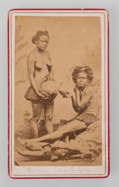 Allan Hughan (1834-1883). Photographie en...