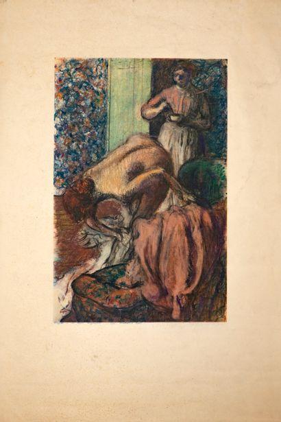 Degas Edgar (1834-1917), d'après  Le petit...