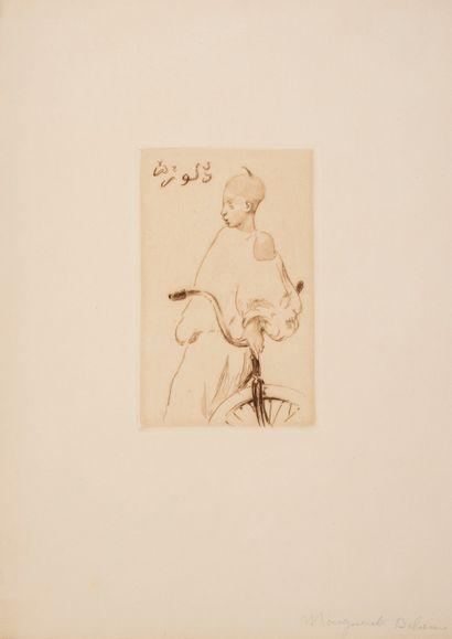 Delorme Marguerite (1876-1946)  Enfant à...