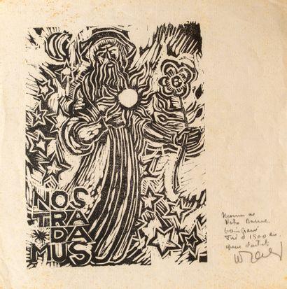 Artiste non identifié  Nostradamus  Bois...