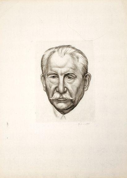 Cottet René (1902-1992)  Portrait de Paul...